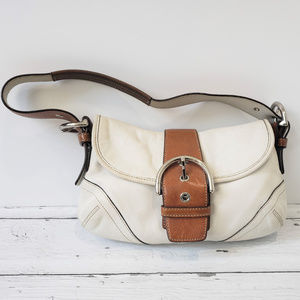Coach 9247 Distressed Buckle Hobo Bag